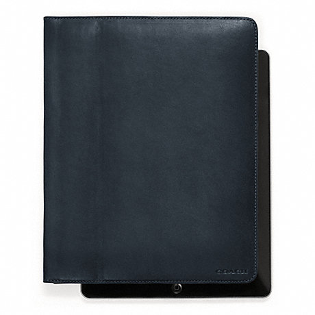 COACH f61223 BLEECKER LEATHER TABLET CASE