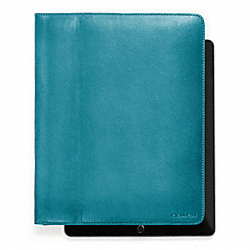 BLEECKER LEATHER TABLET CASE - f61223 - 17902