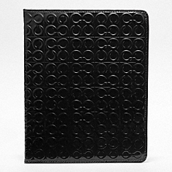 JULIA EMBOSSED PATENT TABLET SLEEVE