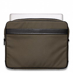 COACH CROSBY NYLON LAPTOP SLEEVE - ONE COLOR - F61671