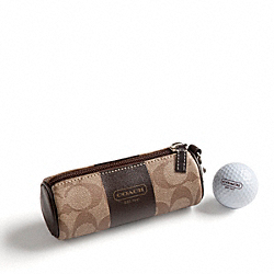 COACH COACH HERITAGE STRIPE GOLF BALL SET - ONE COLOR - F61709