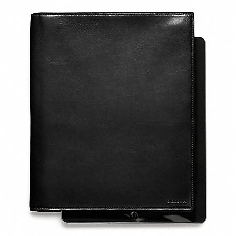 COACH BLEECKER LEATHER TABLET PORTFOLIO -  - f61745