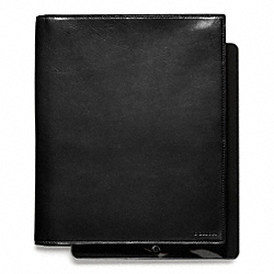 COACH BLEECKER LEATHER TABLET PORTFOLIO - ONE COLOR - F61745