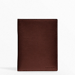 COACH BLEECKER LEGACY PASSPORT CASE - ONE COLOR - F61754