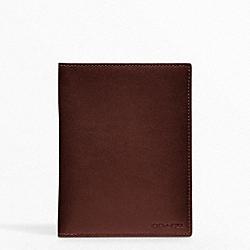 BLEECKER LEGACY PASSPORT CASE COACH F61754