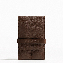 COACH CAMDEN PEBBLED GROOMING KIT - ONE COLOR - F61883