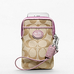 COACH SUTTON SIGNATURE UNIVERSAL CASE - ONE COLOR - F61961