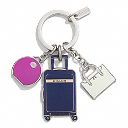 TRAVEL MULTI MIX KEY RING COACH F62499