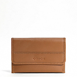 LEXINGTON LEATHER BUSINESS CARD CASE