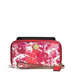 COACH PEYTON FLORAL PRINT EAST/WEST UNIVERSAL CASE - ONE COLOR - F62605