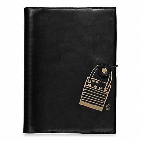 COACH f62702 HUGO GUINNESS A5 NOTEBOOK