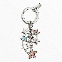 COACH MULTI STARS KEY RING - ONE COLOR - F62734
