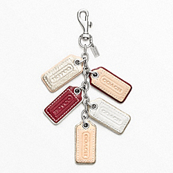 COACH MULTI LOZENGE HANGTAGS CHARM - ONE COLOR - F62736