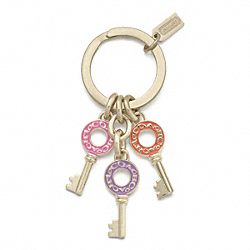 COACH MULTI KEYS KEY RING - ONE COLOR - F62744