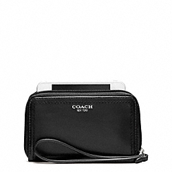 COACH LEATHER EAST/WEST UNIVERSAL CASE - ONE COLOR - F62802