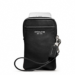 COACH LEATHER UNIVERSAL CASE - ONE COLOR - F62808