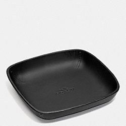 COACH POP COLOR MOLDED VALET TRAY - BLACK/BLACK - F63014