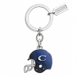 COACH FOOTBALL HELMET KEY RING - ONE COLOR - F63037