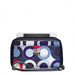 COACH MADISON GRAPHIC OP ART UNIVERSAL CASE - ONE COLOR - F63059