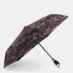 RETRACTABLE UMBRELLA - FATIGUE CAMOUFLAGE - COACH F63181