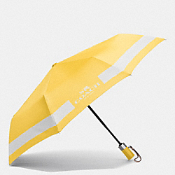COACH HORSE AND CARRIAGE UMBRELLA - SILVER/CANARY/CHALK - F63689