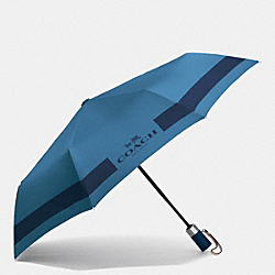 COACH HC LOCK UP UMBRELLA - SILVER/SLATE - F63689