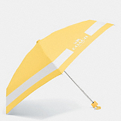 COACH HORSE AND CARRIAGE MINI UMBRELLA - SILVER/CANARY/CHALK - F63690