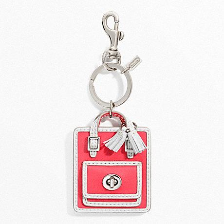 coach f63836 handbag charm coach accessories coach