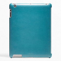 COACH BLEECKER LEATHER MOLDED IPAD CASE - ONE COLOR - F63898