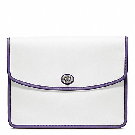 COACH ARCHIVE TWO TONE UNIVERSAL CLUTCH -  - f64036