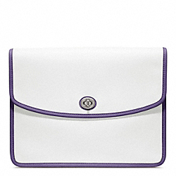 COACH ARCHIVE TWO TONE UNIVERSAL CLUTCH - ONE COLOR - F64036
