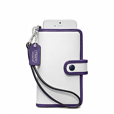 COACH ARCHIVE TWO TONE PHONE WRISTLET -  - f64037