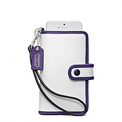 COACH ARCHIVE TWO TONE PHONE WRISTLET - ONE COLOR - F64037