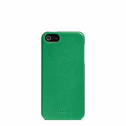BLEECKER LEATHER MOLDED IPHONE 5 CASE - f64076 - 17924