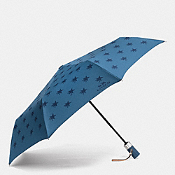 COACH STAR CANYON UMBRELLA - SILVER/SLATE - F64133