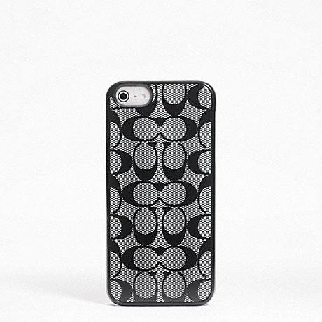 COACH SIGNATURE IPHONE 5 CASE -  - f64397