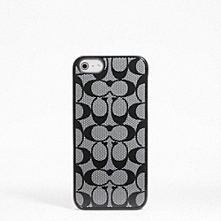 COACH SIGNATURE IPHONE 5 CASE - ONE COLOR - F64397