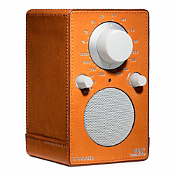 BLEECKER LEATHER WRAPPED TIVOLI RADIO 1418 - f64477 - 28302