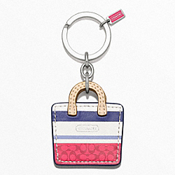 COACH BAG KEY RING - ONE COLOR - F64517
