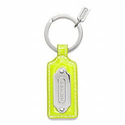 COACH COACH TAG KEY RING - ONE COLOR - F64535
