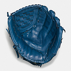 COACH LEATHER BASEBALL GLOVE - DENIM - F65170