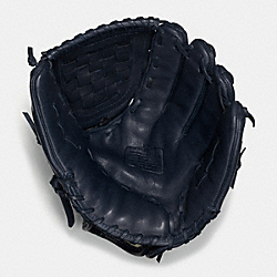 COACH LEATHER BASEBALL GLOVE - MIDNIGHT - F65170