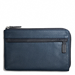 COACH CAMDEN LEATHER MULTI FUNCTION CASE - NAVY/DARK NAVY - F65176