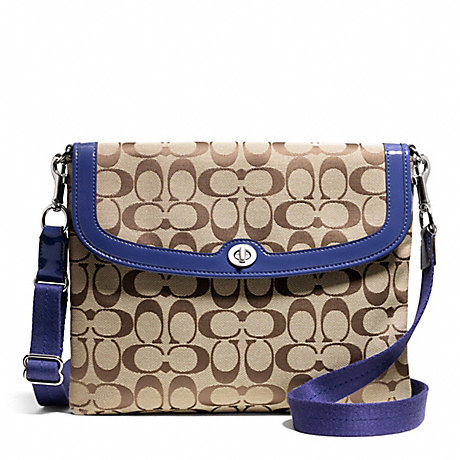 COACH PARK SIGNATURE TABLET CROSSBODY -  - f65360