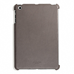 COACH BLEECKER LEATHER MOLDED MINI IPAD CASE - SHARKSKIN - F65416