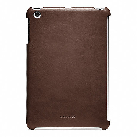 COACH BLEECKER LEATHER MOLDED MINI IPAD CASE -  - f65416