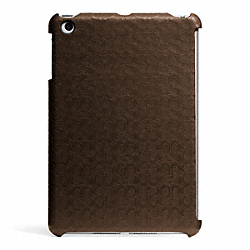 COACH HERITAGE SIGNATURE MINI IPAD CASE - ONE COLOR - F65536
