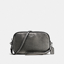 SADIE CROSSBODY CLUTCH - SV/GUNMETAL - COACH F65547