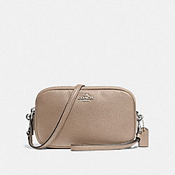 SADIE CROSSBODY CLUTCH - SV/STONE - COACH F65547