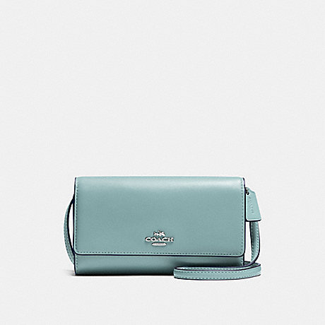 COACH PHONE CROSSBODY - CLOUD/SILVER - f65558
